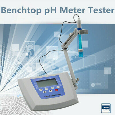 Digital Lab Instruments Benchtop Ph Meter Mv Tester Accuracy0.01 Ph 0.1f.s Mv