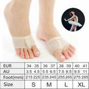 Ballet Dance Paws Foot Thongs Toe Undies Forefoot Shoes Pad Cover Half Lyrical
