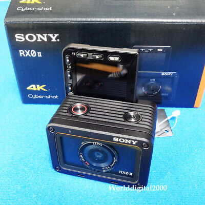 SONY DSC-RX0M2 RX0 II 4K Ultra-Compact ShockProof WaterProof  3 Languages