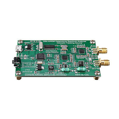 Geekcreit Spectrum Analyzer Usb Ltdz 35-4400m Signal Source With Tracking Source