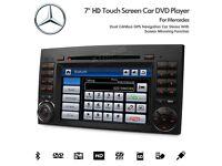 CAR STEREO DVD CD USB PLAYER BT GPS NAVI Mercedes-Benz A/B Class Vito Viano Sprinter, VW Crafter
