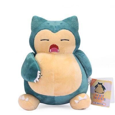 Pokemon All Star 7inch Snorlax Plush Toy Stuffed Animal Soft Doll Xmas Gift