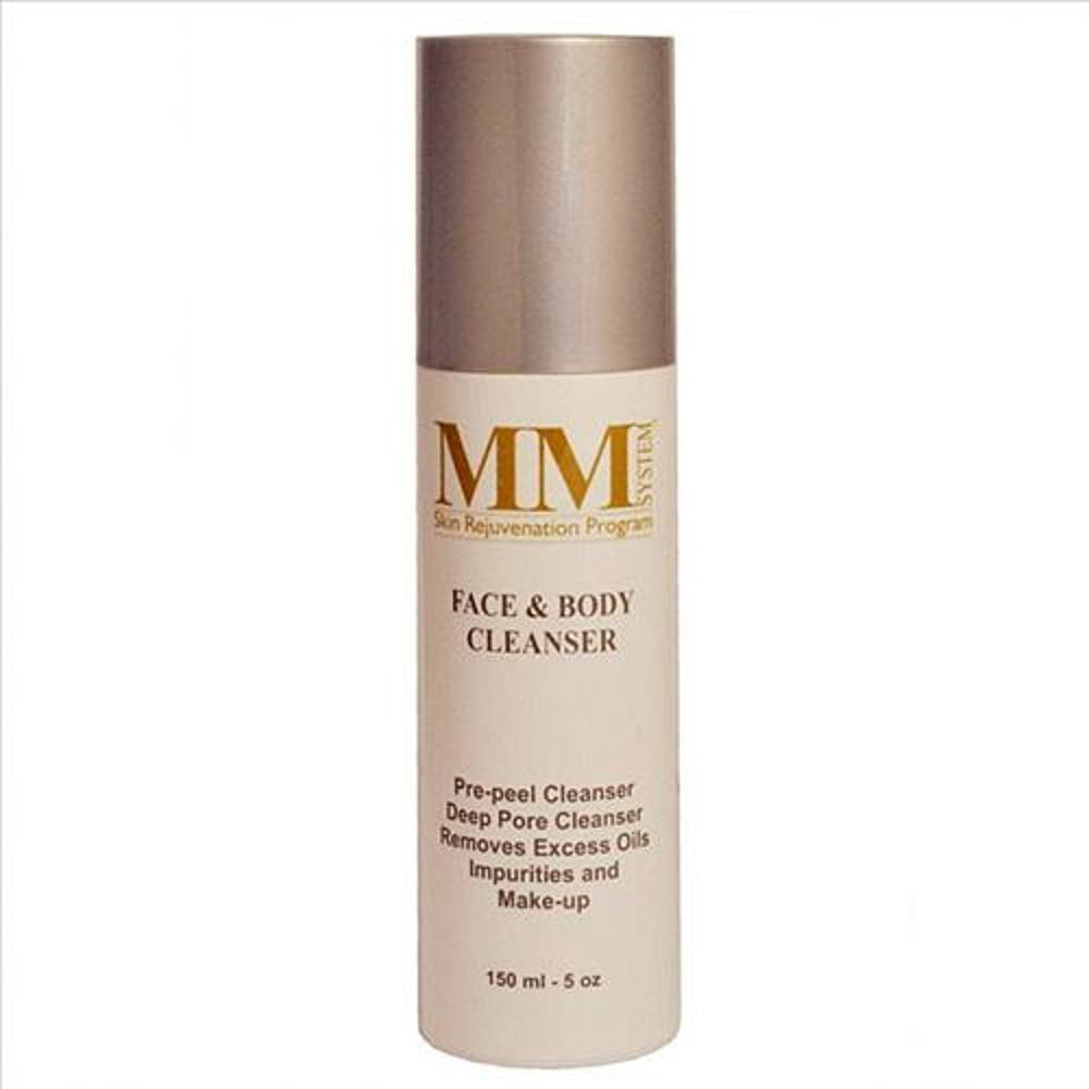mene & moy face & body cleanser