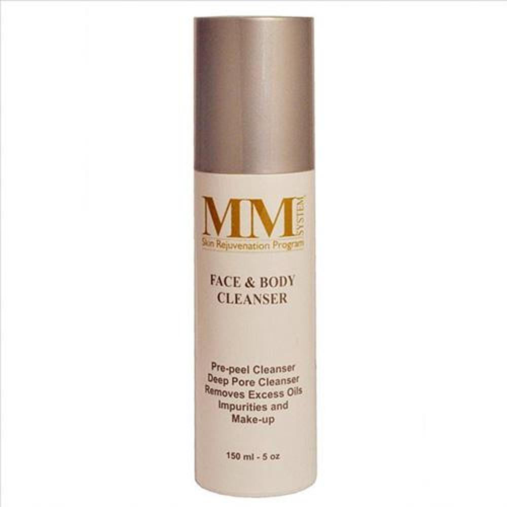 mene & moy face & body cleanser