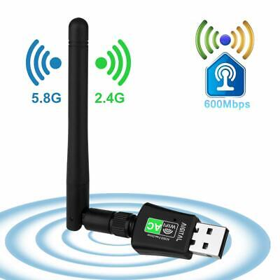 WiFi Adapter Aigital 600Mbps USB Wireless Network Adapter Wi