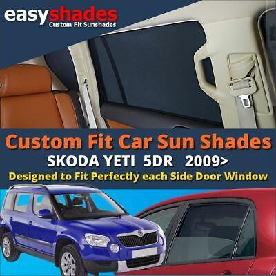 Skoda Fabia 5dr 2007-2014 CAR WINDOW SUN SHADE BABY SEAT CHILD BOOSTER BLIND UV