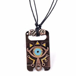 The Legend of Zelda Breath of the Wild Anime game choker vintage necklace.