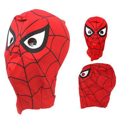 Spider-Man Deluxe Mask Disguise Cosplay Hood Costume Halloween Toy Children - Halloween Spider Mask