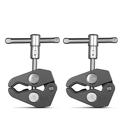 """SmallRig 2pcs Super Clamp with 1/4"""" and 3/8"""" Thread DIY Mount  For 15-44mm Rods"""