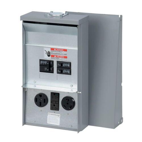 Eaton Cutler Hammer CHU1N9N4NS RV Power Outlet Box 50/20/30 Amp