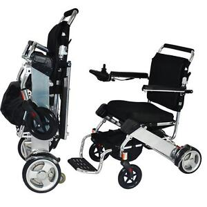 EASYFOLD ONLY 46LBS!!  SAVE $800 INSTANTLY!!  FREE SHIPPING!!  CANADA'S PORTABLE POWER WHEELCHAIR!!