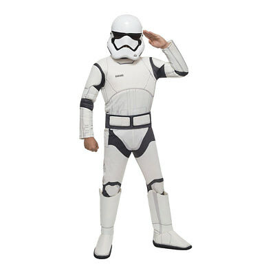 Kids Deluxe Stormtrooper Star Wars Costume](Kids Starwars Costumes)
