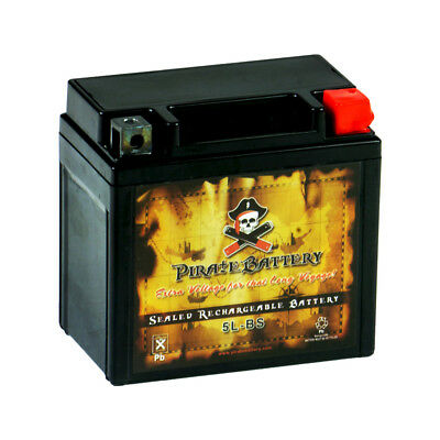 YTX5L-BS  High Performance - Maintenance Free - Sealed AGM Motorcycle Battery