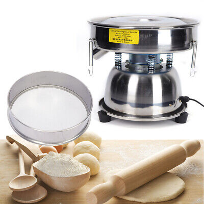 Electric Mechanical Powder Vibrating Sieve Shaker 50 Mesh Stainless Steel 50w Us