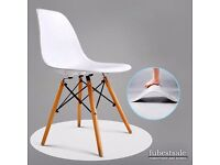 Modern style dinning table white set =4 chairs