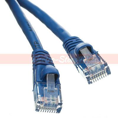 Cat5 Cat5e Ethernet Patch Cable 1.5 3 5 6 7 10 15 20 25 30 50 75 100 200ft - Cat5 5e Ethernet Patch Cable