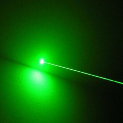 Tactical Green 532nm Laser Pointer Lazer Pen Visible Beam Zoom+18650 Battery