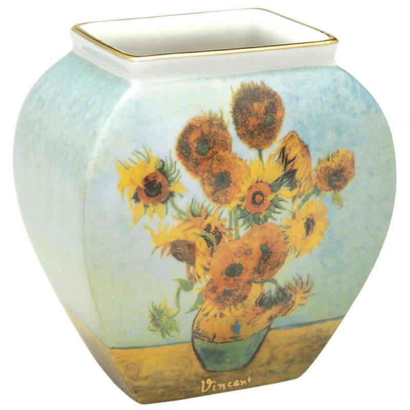 Goebel Artis Orbis-Van Gogh Sunflowers-Mini Vase - With Box 1 2034759