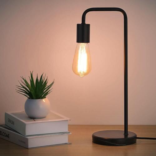 Industrial Desk Lamps Classic Modern Black Bedside Table Lam