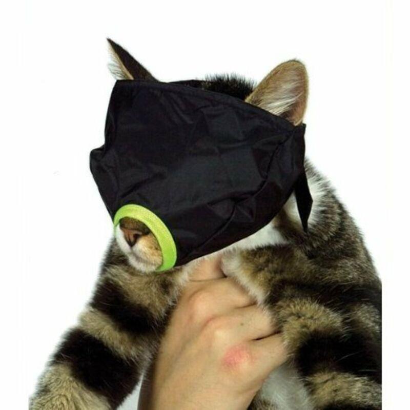Feline Cat Nylon Muzzle High Quality Water Resistant Large