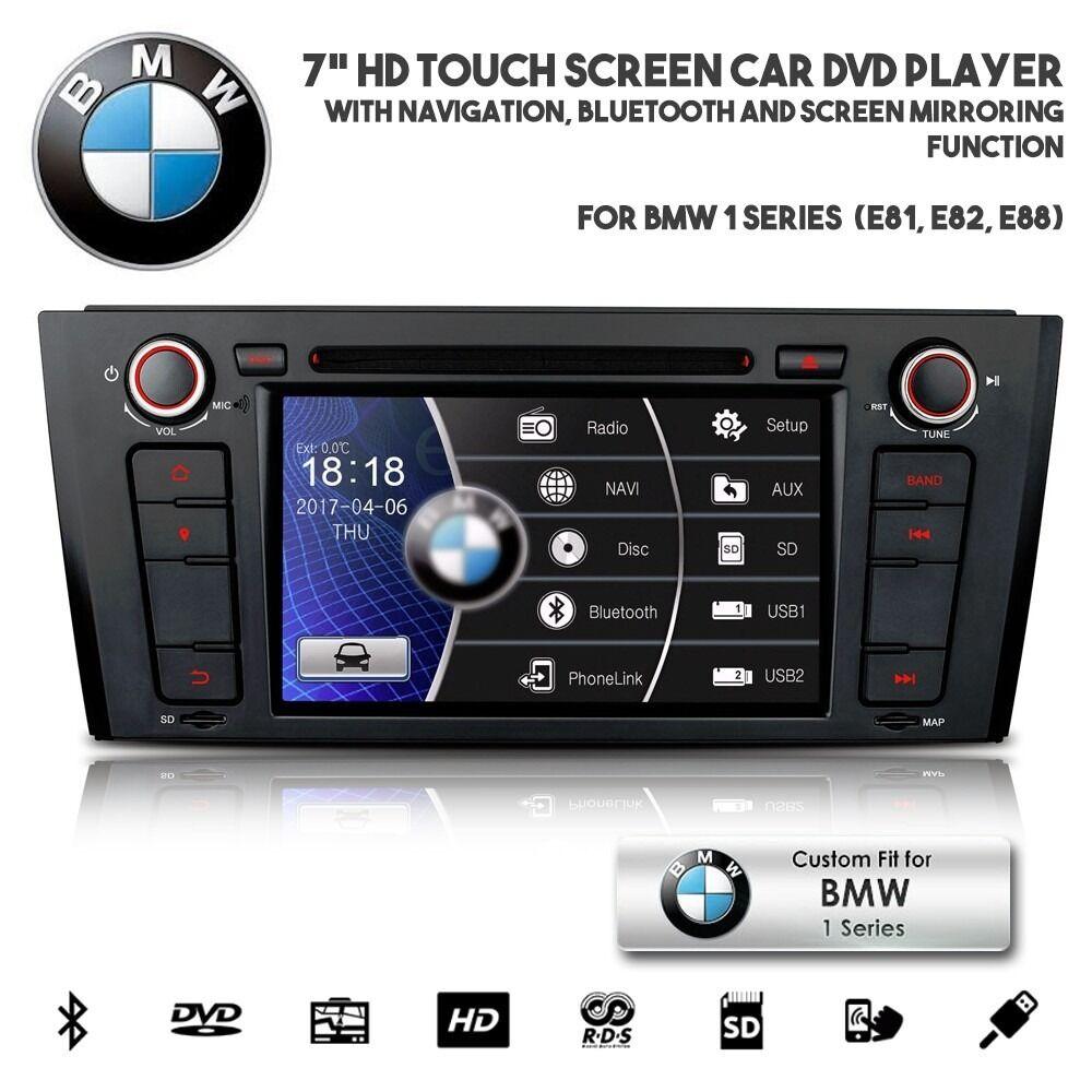 BMW 1 Series Car Audio CD DVD Player GPS Radio USB SD AUX