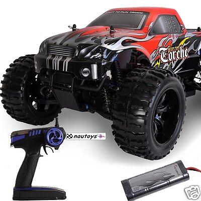 Monstertruck 2.4GHz Torche 4WD RTR-Set mit Pistolensender M 1:10 von Amewi