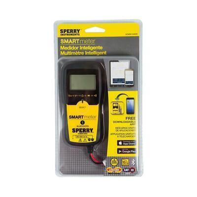 Sperry Instruments Sdmm10000r Multi-use Digital Bluetooth Multimeter - New