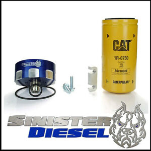 duramax cat fuel filter sinister diesel cat fuel filter kit for gm duramax 2001 2014 | ebay duramax fuel filter for cat