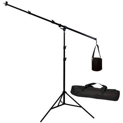 Lusana Studio Photography Overhead Boom Light Stand Lighting stand w/ weight bag