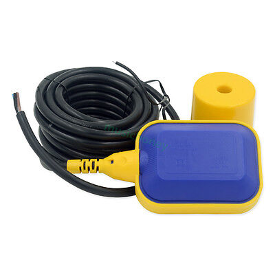 Float Switch Liquid Fluid Water Level Controller Sensor 4m With Free Tape