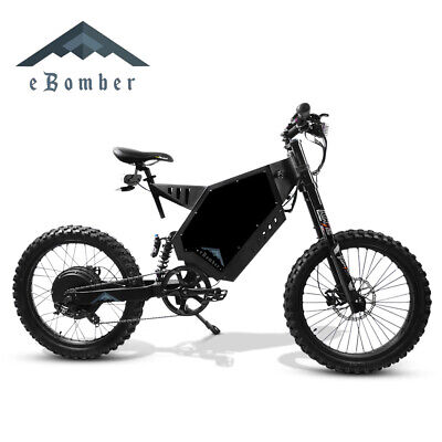 eBomber 5000W Enduro Stealth Bomber Electric Bike QS Sabvoton Samsung 72V eBike