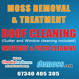 ROOF CLEANING DRIVEWAY & PATIO CLEANING SERVICES