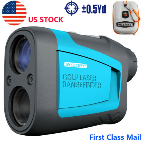 Slope 650 Yards Golf Laser Range Finder 6X Magnification Fla
