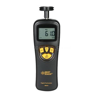 Handheld Contact Digital Lcd Tachometer 19999 Rpm Measuring Meter Tester S4v0