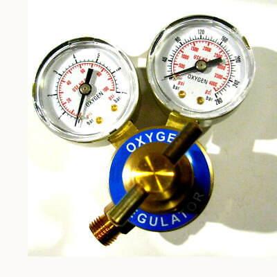 Premium Brass Oxygen 2 Gauge Regulator Welding Cutting Soldering Medical Torch