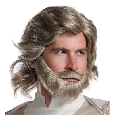 Mens Luke Skywalker The Last Jedi Kit Wig & Beard](Luke Skywalker Wig)
