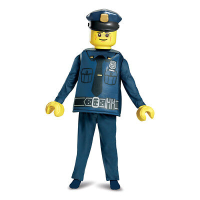 Kids LEGO Police Officer Halloween - Policeman Kid Halloween Costume