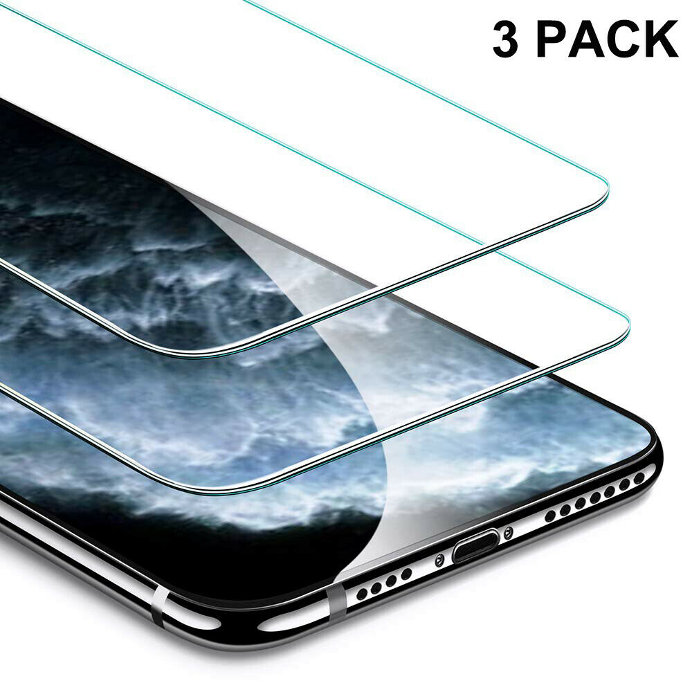 3-Pack For Apple iPhone 11/ 11 Pro / 11 Pro Max Screen Prote