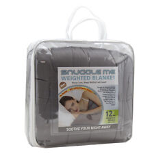 Snuggle Me Cozy Comfy Weighted Blanket 12 lb Stress Less