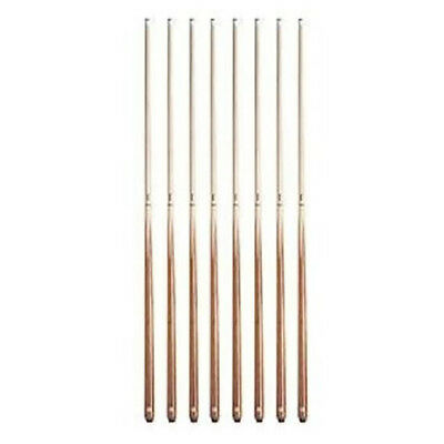 - Valley Billiards House Bar Pool Table Cue Sticks - Set of 8