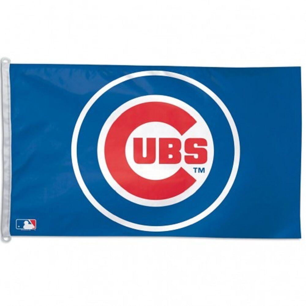 mlb chicago cubs 3 x 5 flag
