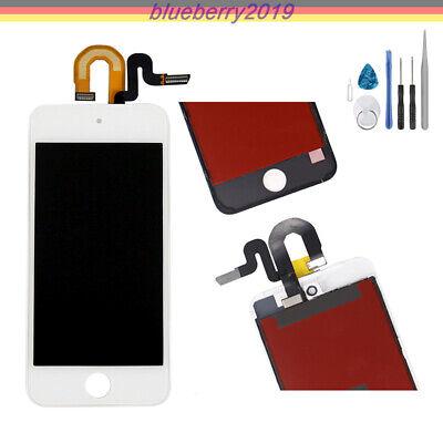 Für Apple IPod Touch 5 LCD Display Retina Bildschirm Glas Front Scheibe Weiß+WKZ ()