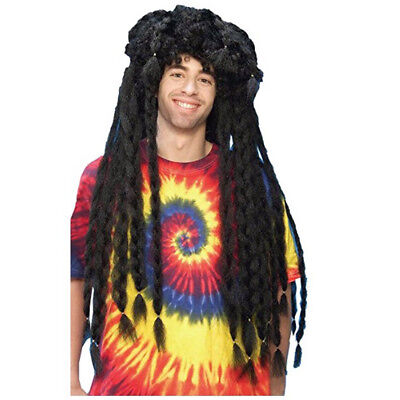 Forum Novelties Ridiculous Rasta Brown Dreadlocks Costume Wig - One Adult Size
