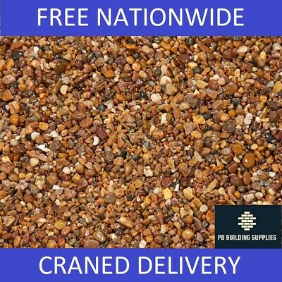 10mm Pea Gravel Bulk Bag (825kg minimum) - Pebbles Delivered Nationwide by Crane