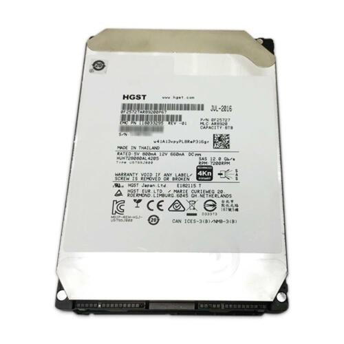 "HGST 8TB SAS 12Gb/s 4Kn 7.2K He8 3.5"" 128MB Hitachi Ultrastar HUH728080AL4205"