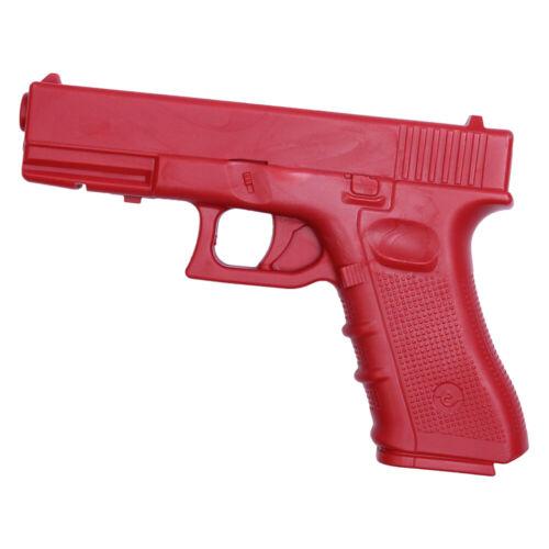 "Red Practice Training Gun Polypropylene Glock Rubber Plastic 17 9"""