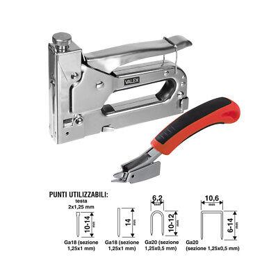VALEX Stapler Nailer Manual Pins Staple Gun Cartridge Staple