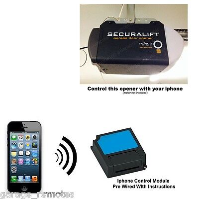 Iphone Remote Control Your ATA Garage Door Opener Securalift  GDO-7 V1 GDO-7v1