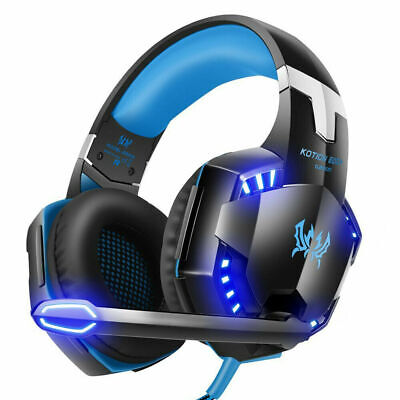 for PS4 PS3 Xbox One and Xbox 360 Gaming Headset MIC LED Headphones (Gaming Headset For Xbox 360 And Xbox One)