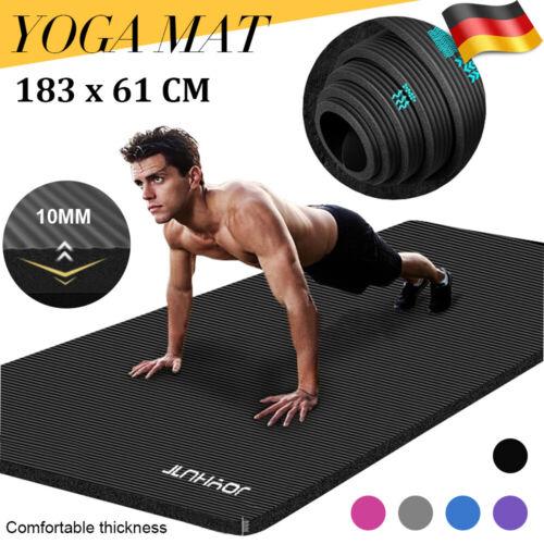 JOYHUT Fitnessmatte Yogamatte Gymnastikmatte Pilatesmatte Turnmatte 183*61*1cm